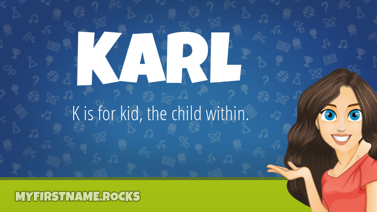 My First Name Karl Rocks!