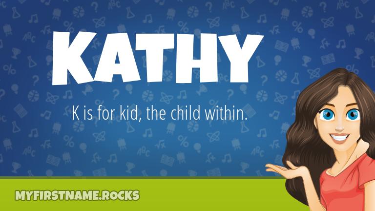 My First Name Kathy Rocks!