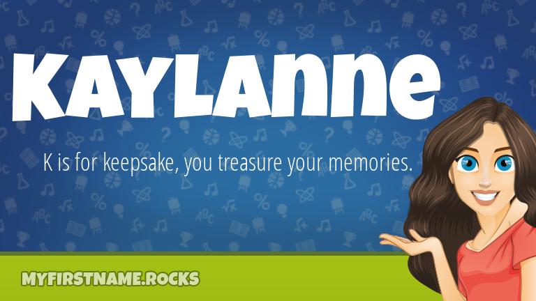My First Name Kaylanne Rocks!