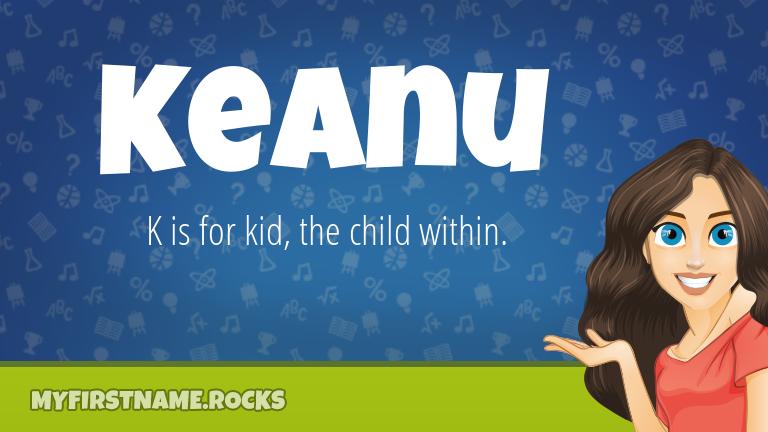 My First Name Keanu Rocks!