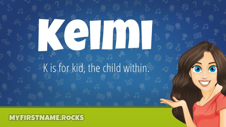 My First Name Keimi Rocks!