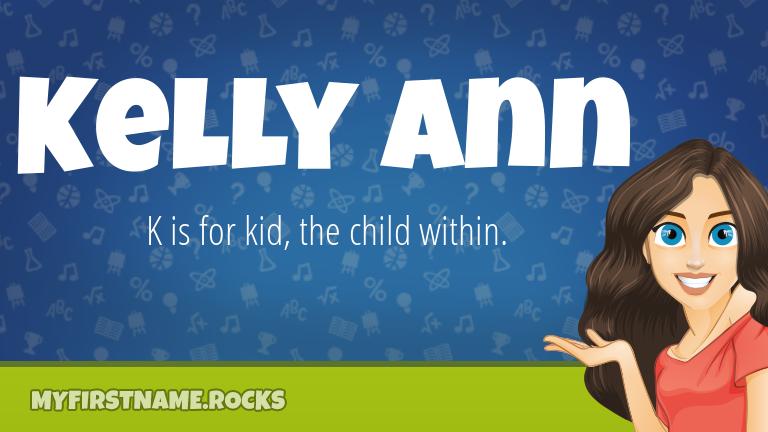 My First Name Kelly Ann Rocks!