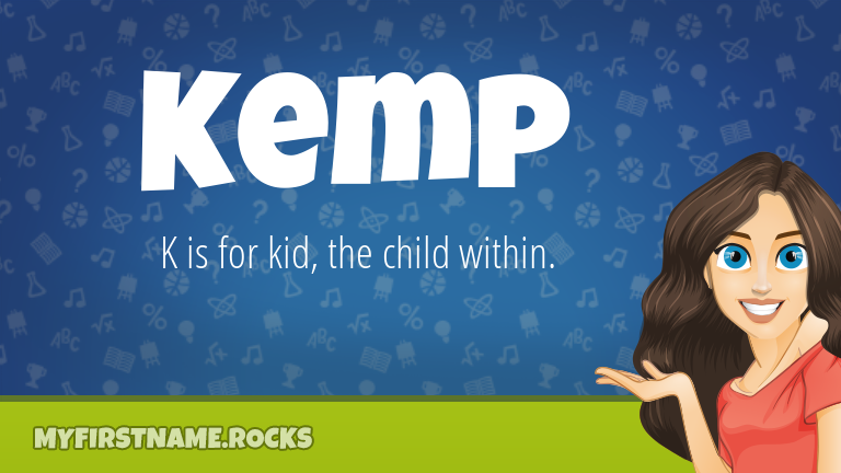 My First Name Kemp Rocks!