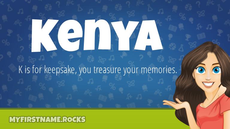 My First Name Kenya Rocks!