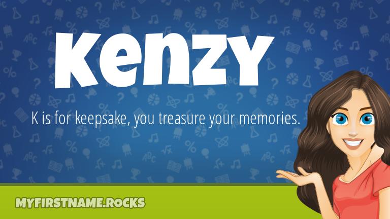 My First Name Kenzy Rocks!