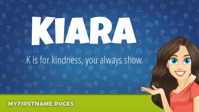 My First Name Kiara Rocks!