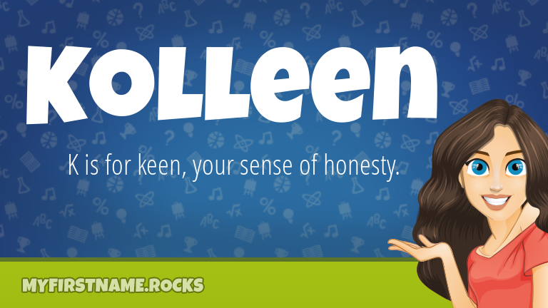 My First Name Kolleen Rocks!
