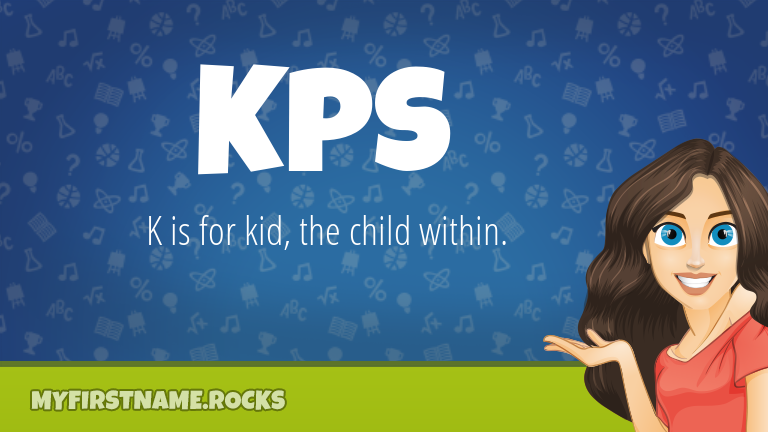 My First Name Kps Rocks!