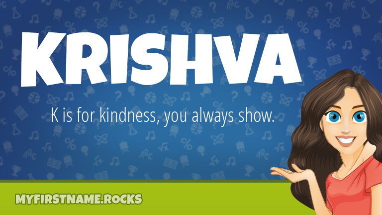My First Name Krishva Rocks!