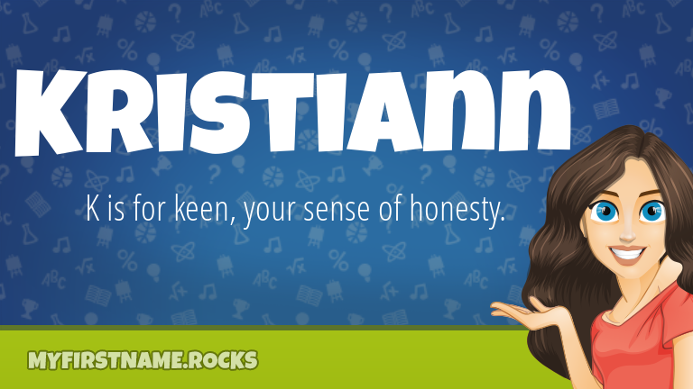 My First Name Kristiann Rocks!
