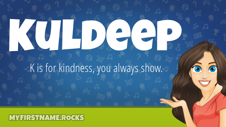 My First Name Kuldeep Rocks!