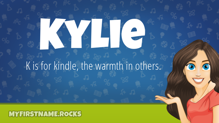 My First Name Kylie Rocks!