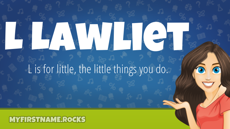 My First Name L Lawliet Rocks!