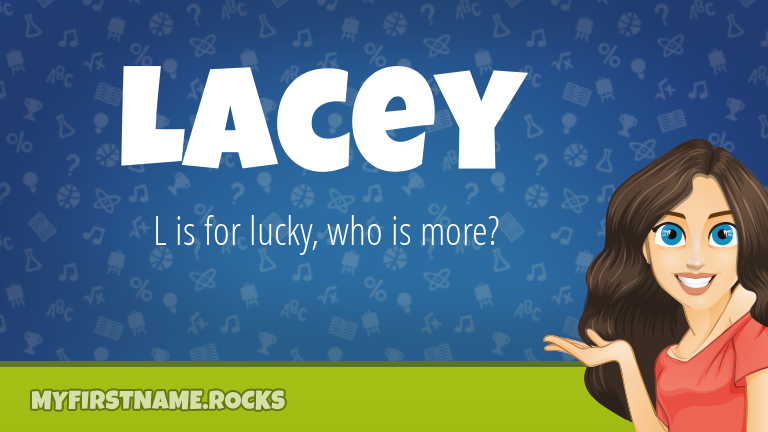My First Name Lacey Rocks!