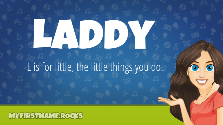 My First Name Laddy Rocks!