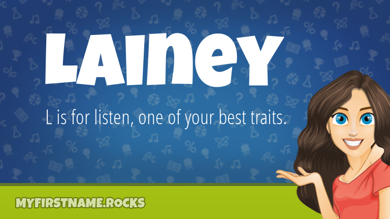 My First Name Lainey Rocks!