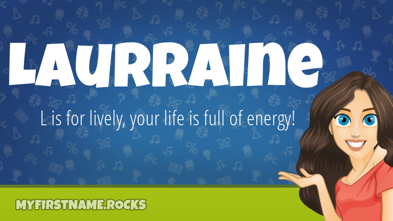 My First Name Laurraine Rocks!