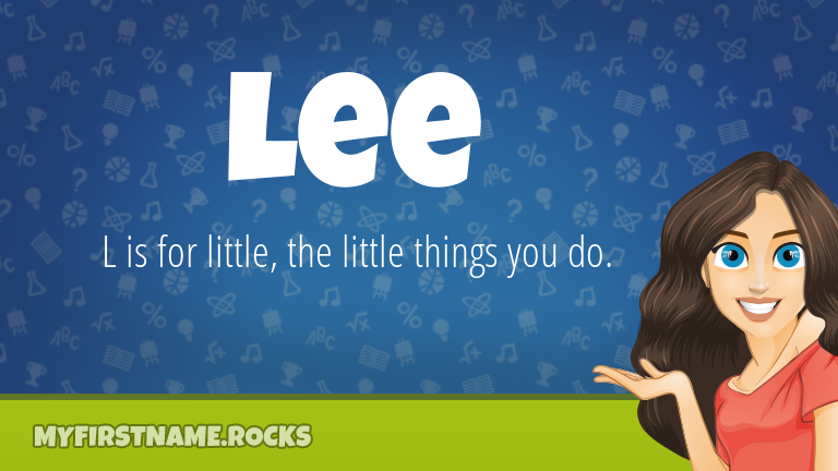 My First Name Lee Rocks!