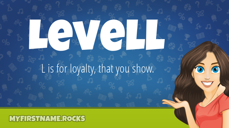 My First Name Levell Rocks!