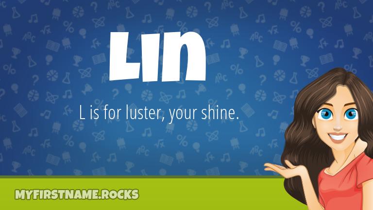 My First Name Lin Rocks!