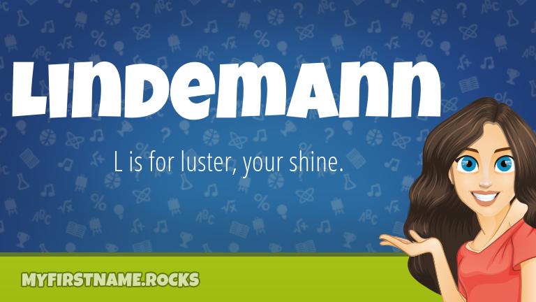 My First Name Lindemann Rocks!