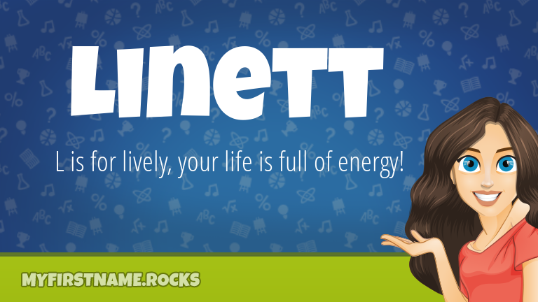 My First Name Linett Rocks!