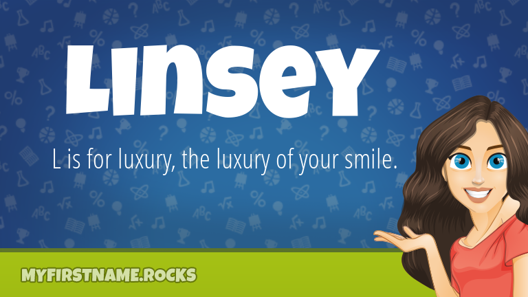 My First Name Linsey Rocks!