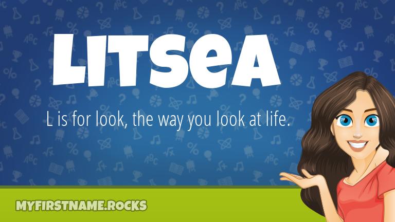 My First Name Litsea Rocks!