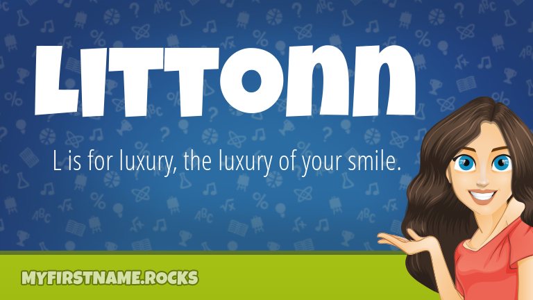 My First Name Littonn Rocks!