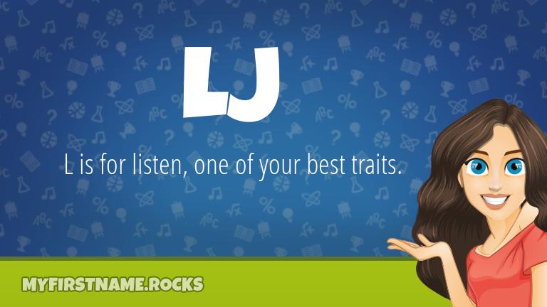 My First Name Lj Rocks!