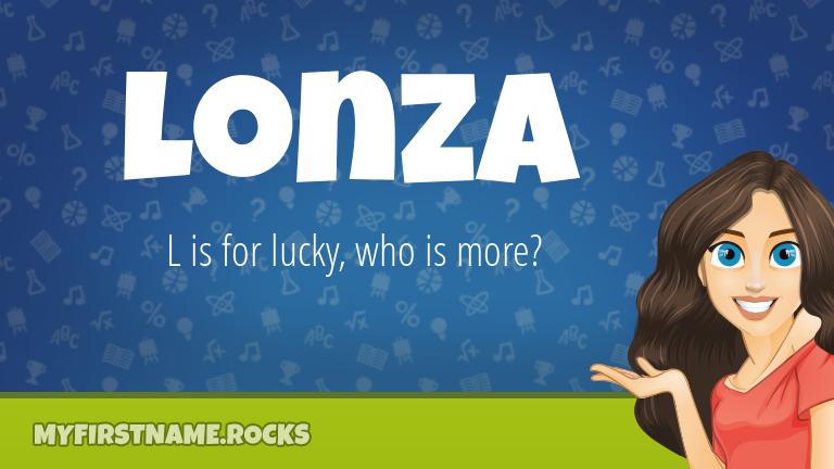 My First Name Lonza Rocks!