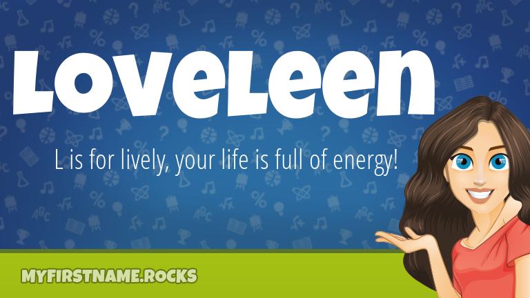 My First Name Loveleen Rocks!