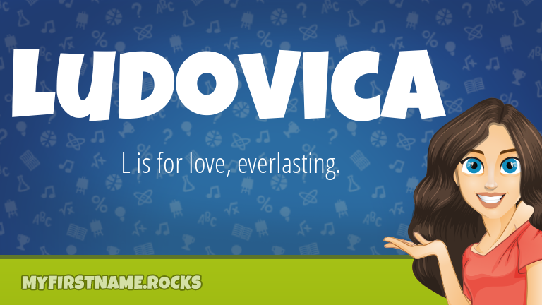 My First Name Ludovica Rocks!