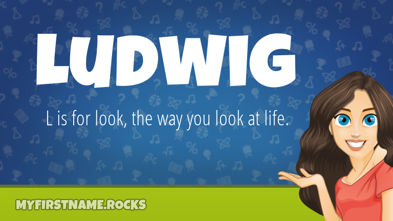 My First Name Ludwig Rocks!