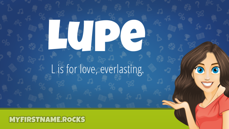 My First Name Lupe Rocks!