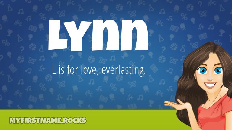 My First Name Lynn Rocks!