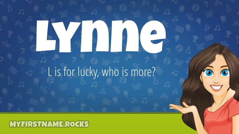 My First Name Lynne Rocks!