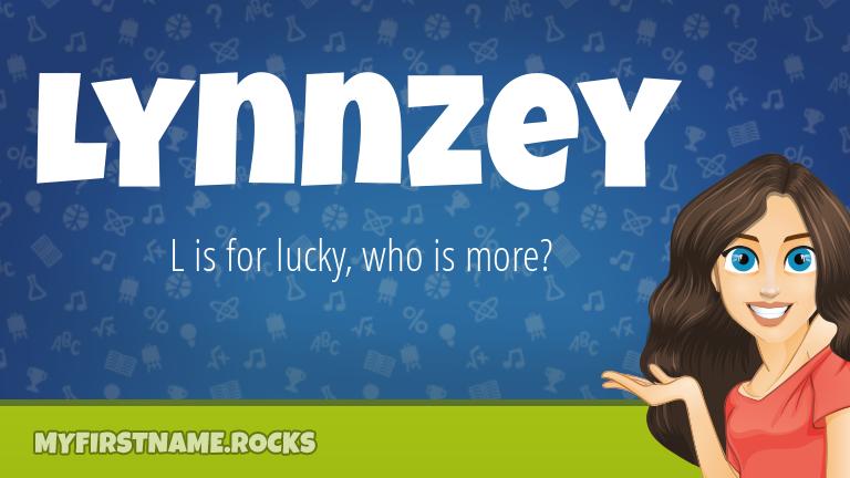 My First Name Lynnzey Rocks!