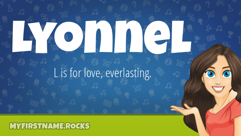 My First Name Lyonnel Rocks!