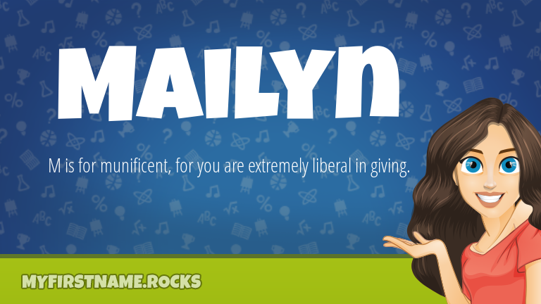 My First Name Mailyn Rocks!