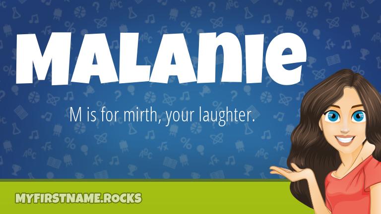 My First Name Malanie Rocks!