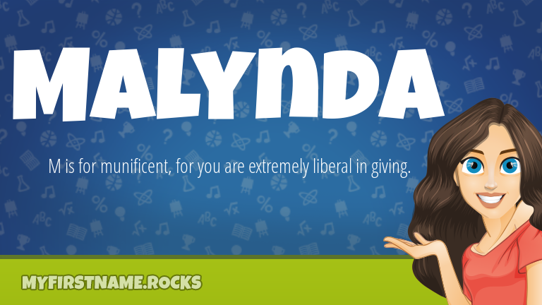 My First Name Malynda Rocks!