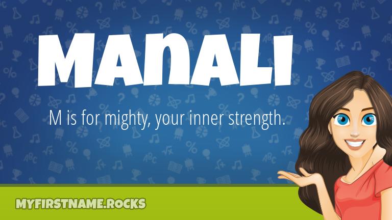 My First Name Manali Rocks!