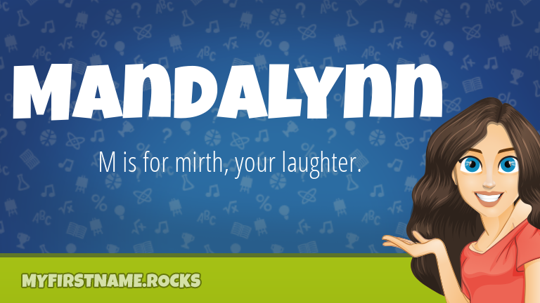 My First Name Mandalynn Rocks!