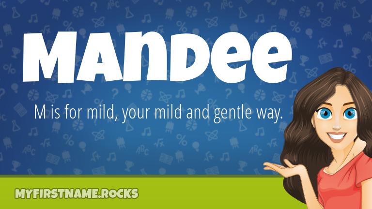 My First Name Mandee Rocks!