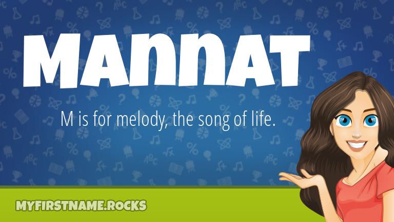 My First Name Mannat Rocks!