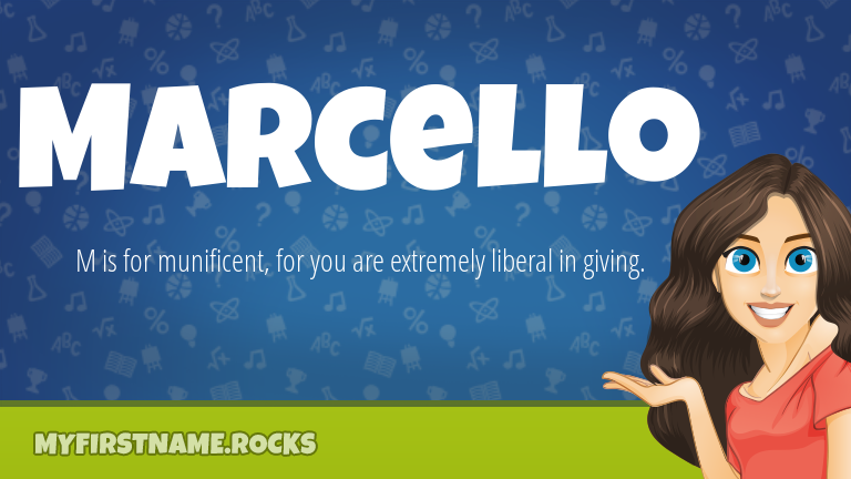My First Name Marcello Rocks!