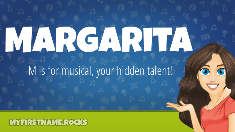 My First Name Margarita Rocks!