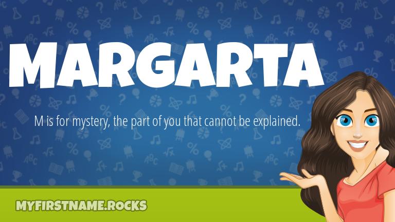 My First Name Margarta Rocks!
