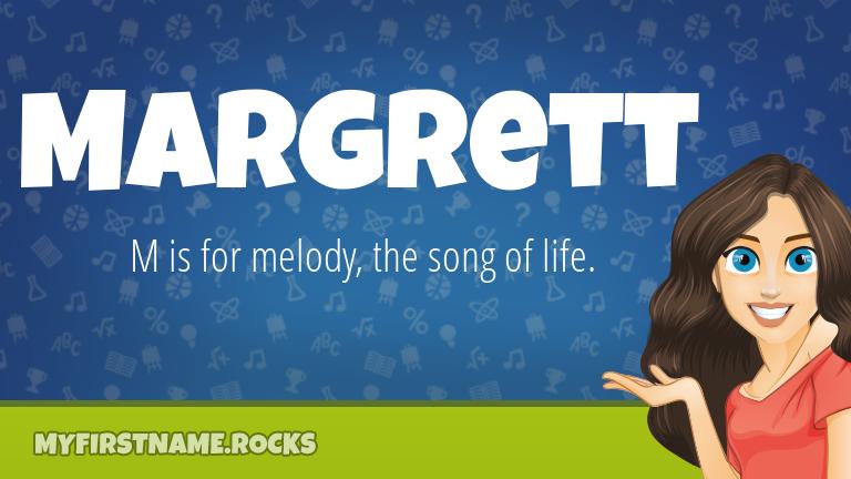 My First Name Margrett Rocks!